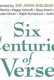 Six Centuries of Verse Poster