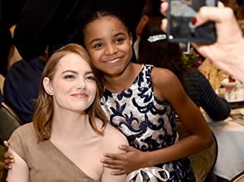 Emma Stone and Saniyya Sidney