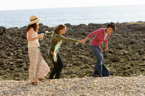Amy Brenneman, Maggie Grace, and Gwendoline Yeo in The Jane Austen Book Club (2007)