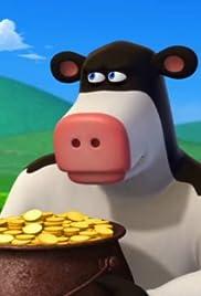 Four Leaf Otis/Cop Cow Poster