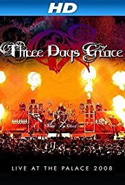 Three Days Grace: Live at the Palace 2008 Poster