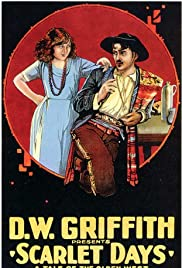 Scarlet Days Poster
