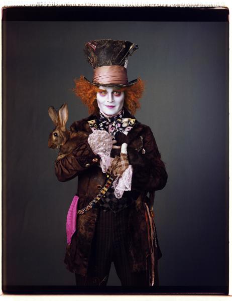 Johnny Depp in Alice in Wonderland (2010)