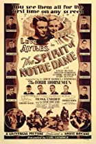 The Spirit of Notre Dame (1931) Poster