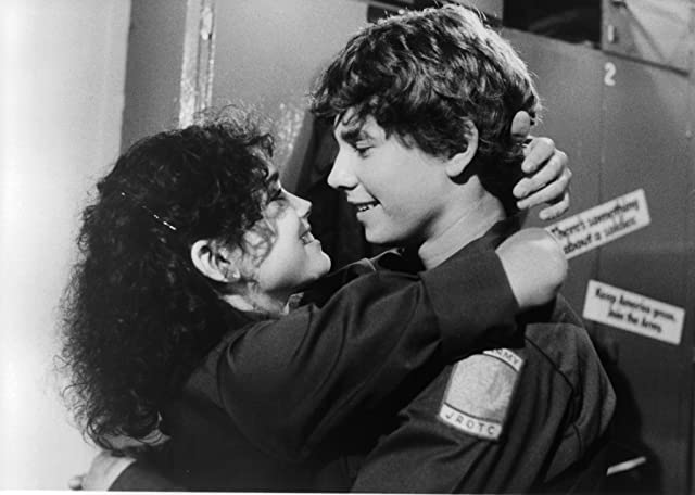 Hutch Parker and Stacey Nelkin in Up the Academy (1980)