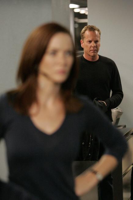 Kiefer Sutherland and Annie Wersching in 24 (2001)