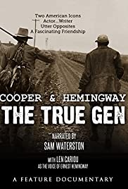 Cooper and Hemingway: The True Gen Poster