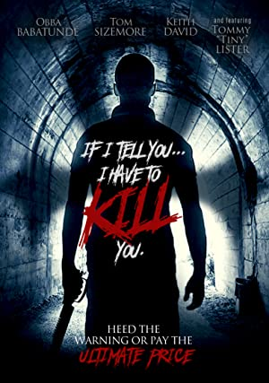 If I Tell You I Have to Kill You (2015)