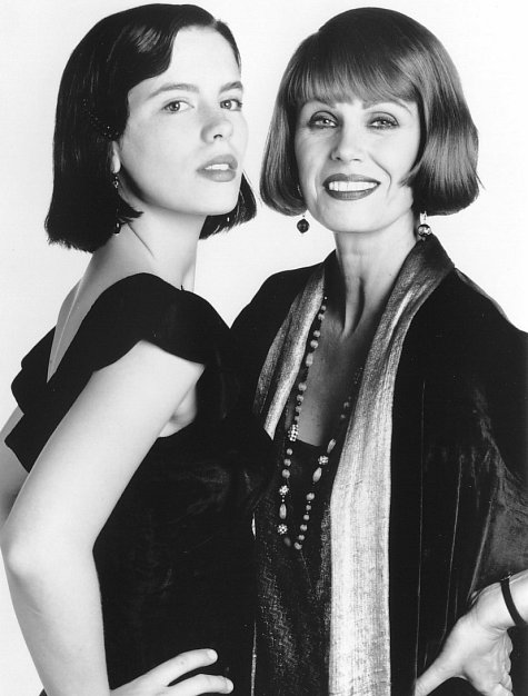 Kate Beckinsale and Joanna Lumley in Cold Comfort Farm (1995)