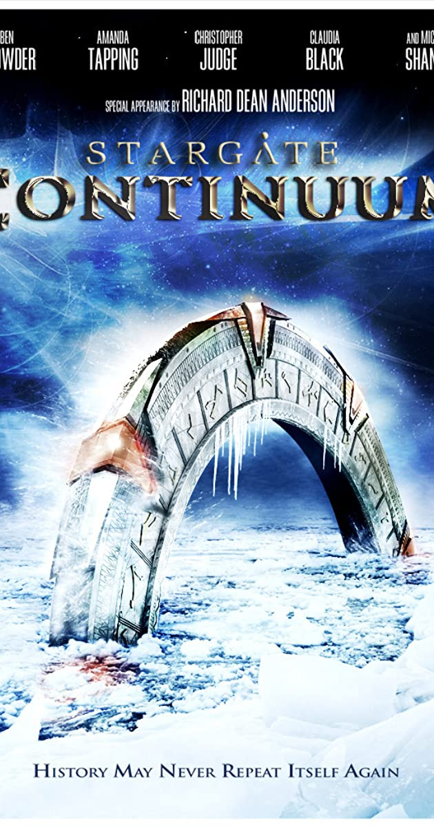 Žvaigždžių vartai Kontinuumas / Stargate: Continuum (2008) Online