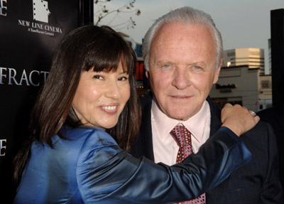 Anthony Hopkins at an event for Fracture (2007)