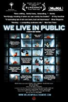 Image of We Live in Public