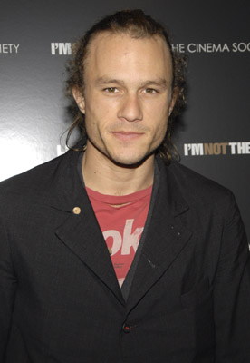 Heath Ledger at I'm Not There. (2007)