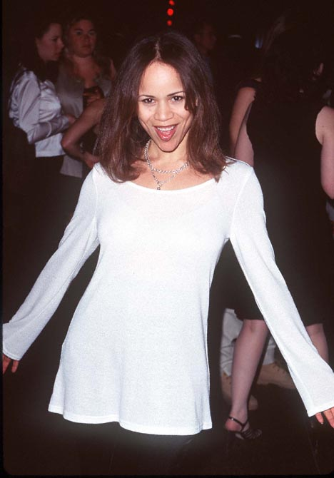 Rosie Perez at an event for The Pallbearer (1996)