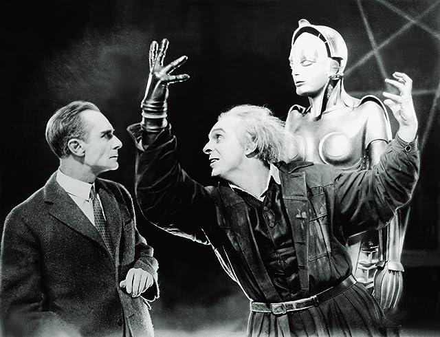 Alfred Abel, Brigitte Helm, and Rudolf Klein-Rogge in Metropolis (1927)