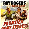 Roy Rogers, Raymond Hatton, Bud Osborne, and Lynne Roberts in Frontier Pony Express (1939)