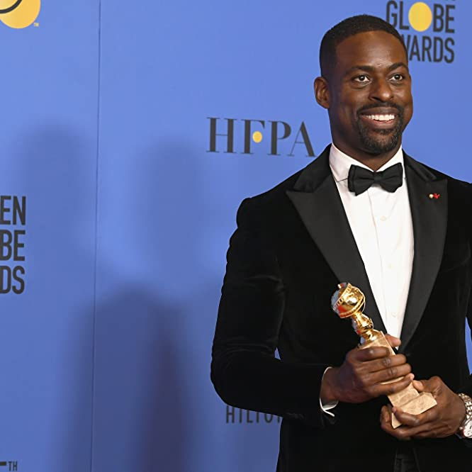 Sterling K. Brown at an event for The 75th Golden Globe Awards (2018)