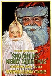 Snookums' Merry Christmas Poster