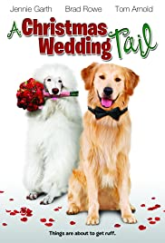A Christmas Wedding Tail Poster