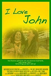 I Love John Poster