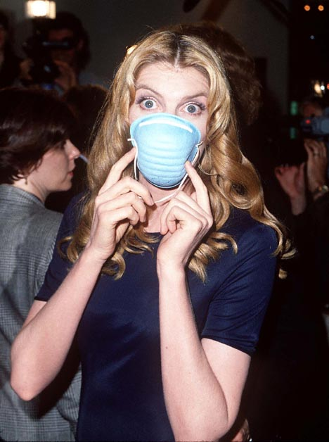 Rene Russo at Outbreak (1995)