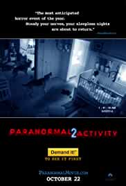 Paranormal Activity 2 2010 UNRATED  BluRay 720p 950MB Dual Audio ( Hindi – English ) AC3 ESubs MKV