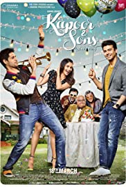 Kapoor & Sons (2016) Poster - Movie Forum, Cast, Reviews