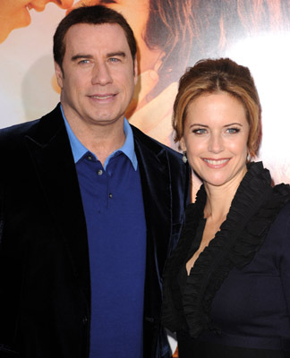 John Travolta and Kelly Preston at an event for The Last Song (2010)