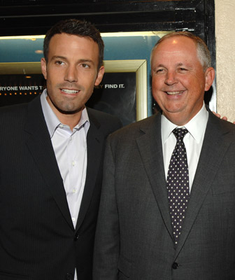 Ben Affleck and Dick Cook at Gone Baby Gone (2007)