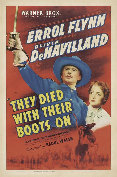 image They Died with Their Boots On Watch Full Movie Free Online