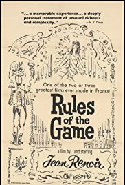 The Rules of the Game(1939) Poster - Movie Forum, Cast, Reviews