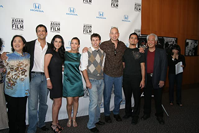Cast Members of THE SENSEI at Red Carpet World Premiere at Directors Guild of America for 24th Los Angeles Asian Pacific Film Festival.