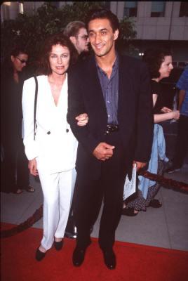 Jacqueline Bisset and Emin Boztepe at an event for Lolita (1997)