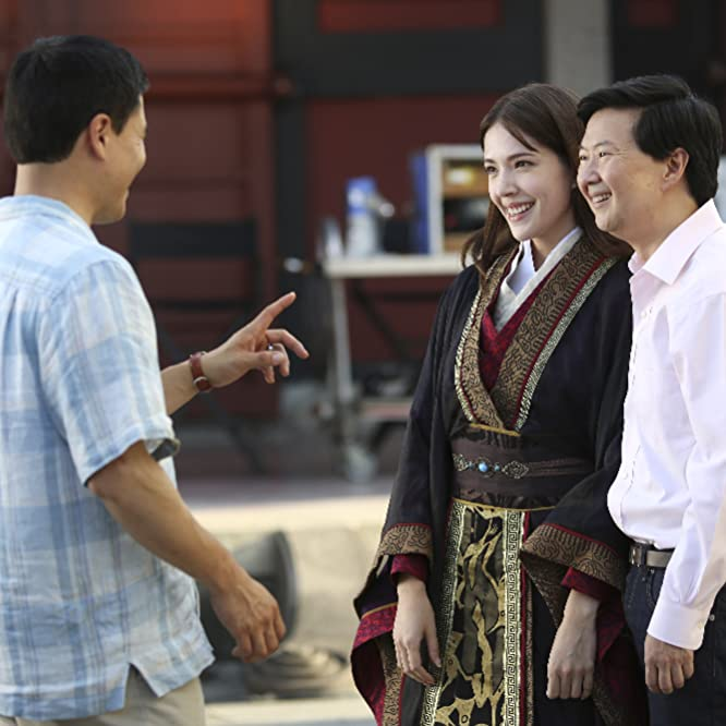 Ken Jeong, Randall Park, and Wei-ning Hsu in Fresh Off the Boat (2015)
