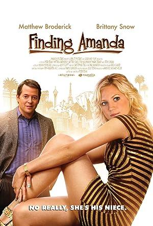 Finding Amanda poster