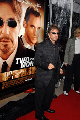 Al Pacino at an event for Two for the Money (2005)