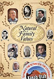 Natural Family Values Poster