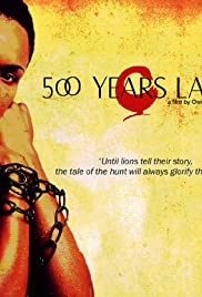 500 Years Later (2005) Poster - Movie Forum, Cast, Reviews