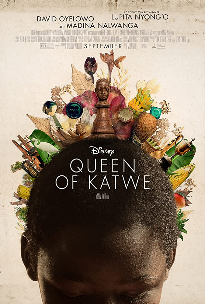 Queen of Katwe cartel de la película
