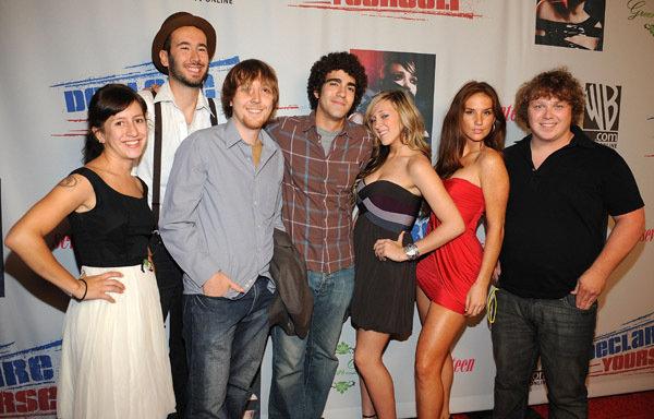 Michael Blaiklock, Justin Becker, Ashton Grant, Ani Raya-Flores, Elisha Yaffe, Heidi Heaslet, and Dave Horwitz in Downers Grove (2008)