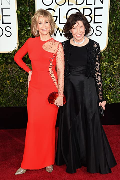 Jane Fonda and Lily Tomlin at an event for 72nd Golden Globe Awards (2015)