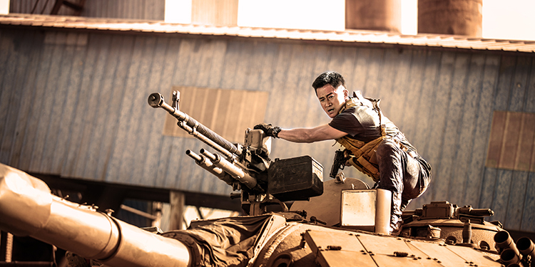 Zhan lang 2 (Wolf Warrior 2)