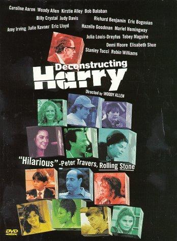 Woody Allen, Robin Williams, Kirstie Alley, and Mariel Hemingway in Deconstructing Harry (1997)