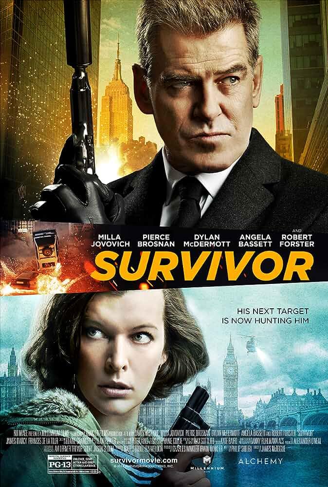 Survivor 2015 Dual Audio 720p BluRay full movie watch online freee download at movies365.cc