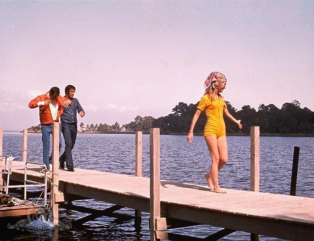 Sam Elliott, Joan Van Ark, and Adam Roarke in Frogs (1972)