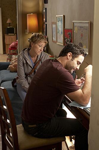 Edie Falco and Dominic Fumusa in Nurse Jackie (2009)