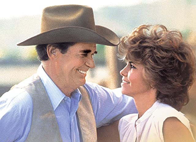 Sally Field and James Garner in Murphy's Romance (1985)
