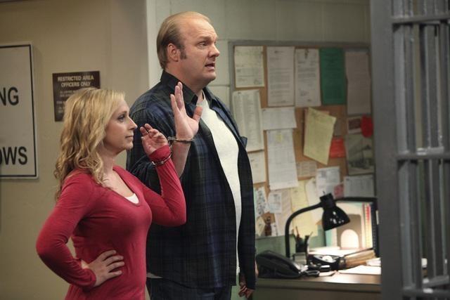 Leigh-Allyn Baker and Eric Allan Kramer in Good Luck Charlie (2010)