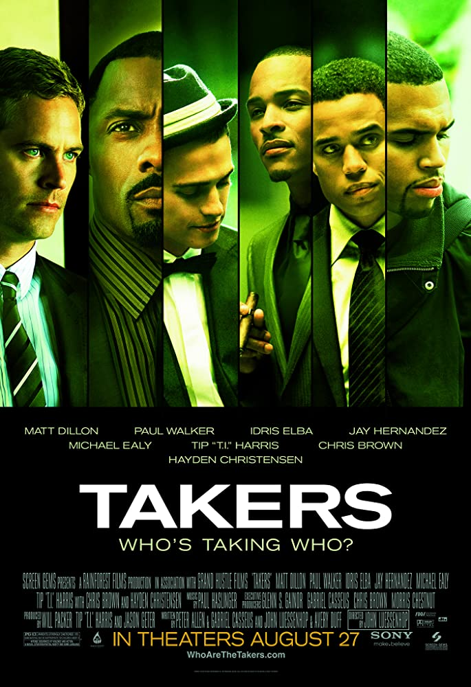 Takers 2010 720p BRRip Dual Audio Watch Online Free Download HD At www.movies365.in