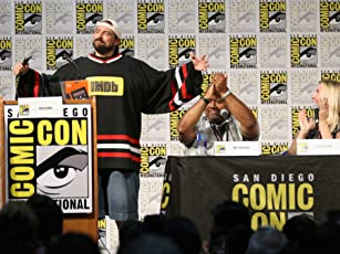 Kevin Smith, Julie Benson, and Marc Bernardin